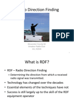 Radio Direction Finding Presentation