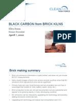 Black Carbon from Brick Kilns