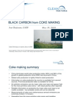 Black Carbon from Coke Making