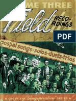 Field Recordings Folio