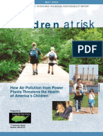 Children at Risk How Air Pollution from Power Plants Threatens the Health of America's Children