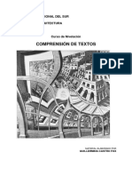 Cuadernillo Comprension de Textos Arquitectura 2016