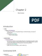 chapter 2 plate tectonics