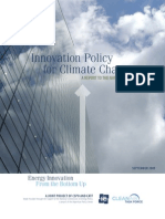Innovation Policy for Climate Change