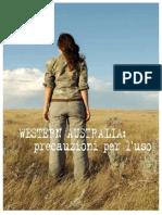 Western Australia Precauzioni Per l'Uso