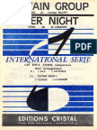 Ed Chappe - Over Night - Jerk - Band Sheet Music
