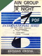 Ed Chappe - Over Night - Jerk - Band Sheet Music