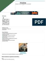 Frionline - Tabla Orientativa de Capacitores Electrolíticos