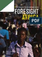Foresight Africa_Full Report
