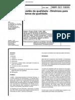NBR ISO 10005 - Diretrizes Planos Qualidade.pdf