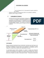 Determinación de La Viscosidad de Liquidos, Laboratorio Ayuda (IPQ 2016)