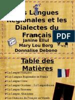 Les Dialectes Du Francais