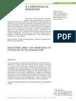 REFLEXÕES SOBRE A IMPORTÂNCIA DA PSICOLOGIA NA  ORGANIZAÇÃO.pdf