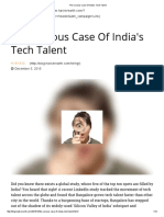 The Curious Case of India's Tech Talent