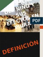 El Fenómeno Del Niño y Sus Efectos en Piura. Marita