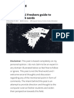 The Unofficial Freshers Guide to Winters for CS Nerds Apexkid's Blog