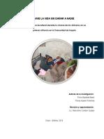 La Práctica Sociocultural durante la crianza de los niños/as en su  primera infancia en la Comunidad de Irupata