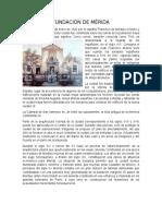 Fundación de Mérida