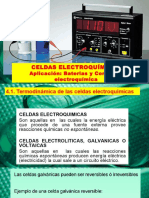 Modulo III - Tema 5 -Celdas Electroquímicas