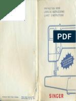 Singer 9836 C (Capri 45) Instruction Book