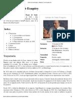 Antoine de Saint-Exupéry - Wikipedia, La Enciclopedia Libre