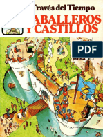 Caballeros y Castillos J Hindley Col a Traves Del Tiempo Plesa 1986