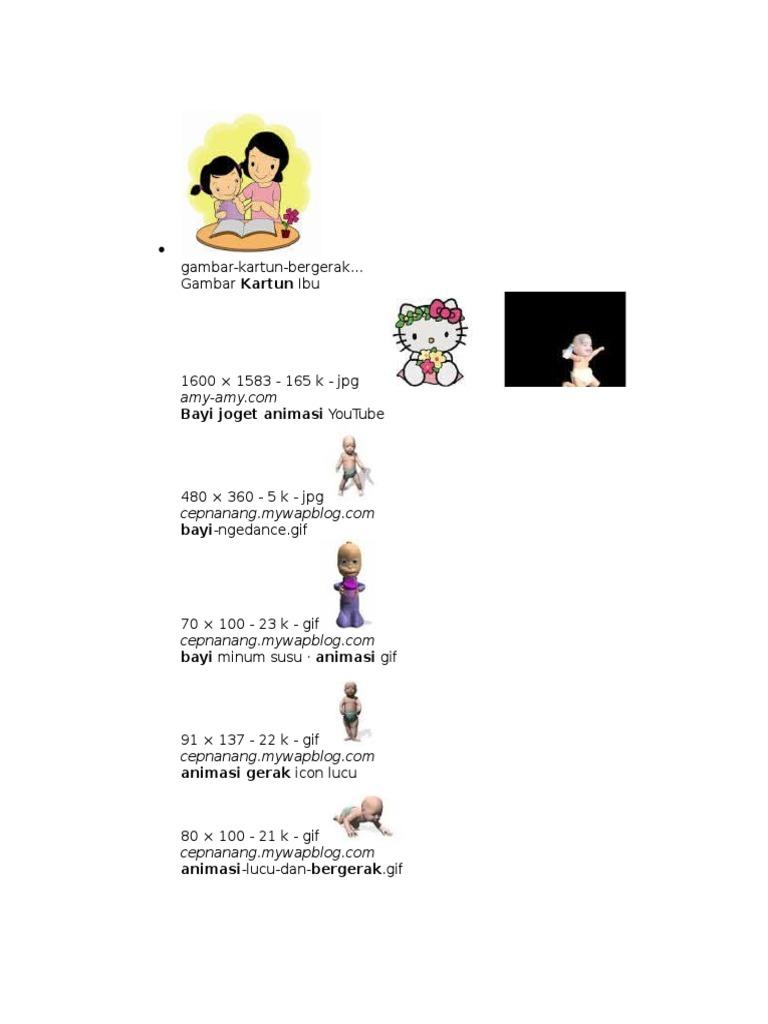 83 Gambar Animasi Joget Lucu Kekinian