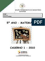 Caderno 1 - 5 ano - Matemtica 2010.pdf