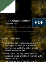 G8TOT Matter Modules 2 3
