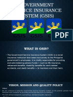 Government Service Insurance System (GSIS)