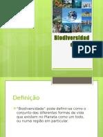 Biodiversidade apresentação