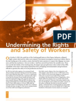 Undermining the RIghts and Safety of Workers