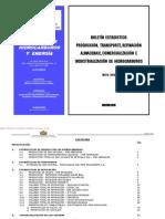 Boletín Estadístico de Hidrocarburos