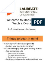 Welcome to Module 5 – Teach a Course