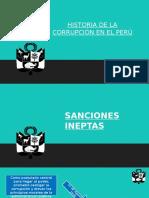 Historia de La Corrupcion