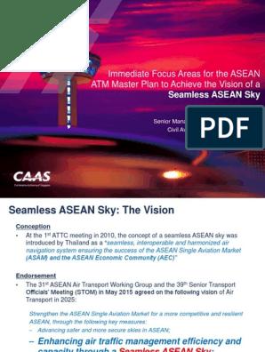 2 AATIP Workshop - ASEAN ATM Master Plan_immediate Focus