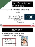 Nutrición y Desnutrición en Pediatria