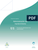 Unidad 1. Procesos de Administracion Del Mantenimiento _131216