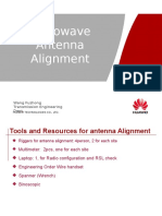 Antenna Alignment procedure