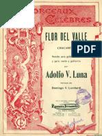 Luna Flor Del Valle