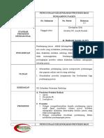 SPO Penggunaan Kelengkapan Proteksi Bagi Pendamping Pasien