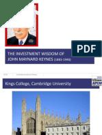 Investment Wisdom of Keynes