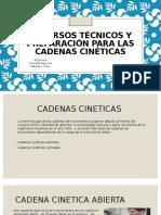 Recursos Técnicos y Preparación Para Las Cadenas Cinéticas