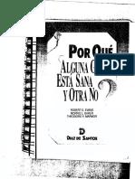 Evans Morris Marmor 1990 - Por Qué Alguna Gente Está Sana y Otra No - Determinantes de La Salud de La Población