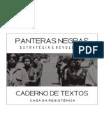 Caderno Panteras Negras Parte 1