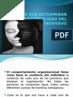 Factores Que Determinan La Personalidad(Present)