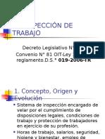 la inspección al trabajo en el derecho laboral peruano