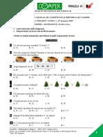 Subiect Matematica EtapaI 2016 2017 ClasaII