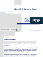 Adolescent Oral Health (1)