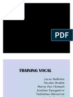 Training vocal